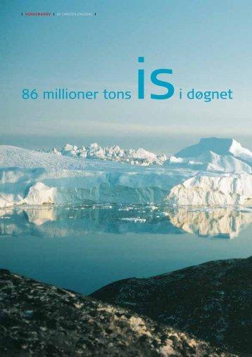 86 millioner tons is i døgnet - GEUS