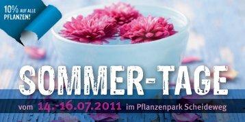 vom 14.-16.07.2011 im Pflanzenpark Scheideweg