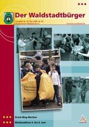 50 Jahre Waldstadt - KA-News