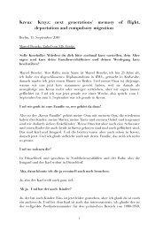 Transkripte zum Nachlesen herunterladen - Geschichtswerkstatt ...