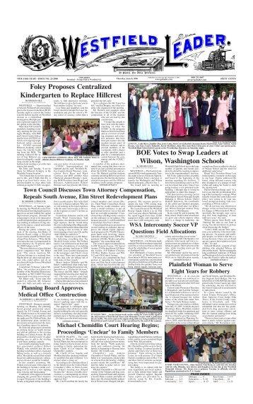 06jun08 newspaper - The Westfield Leader