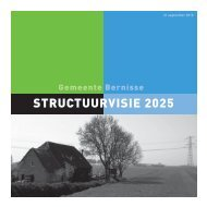 Download de Structuurvisie 2025 - gemeente Bernisse