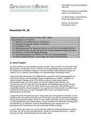 Newsletter Nr. 28 - Gesundheitsbeirat-muenchen.de