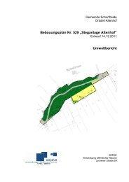 Bebauungsplan Nr. 529 ?Steganlage Altenhof? Umweltbericht