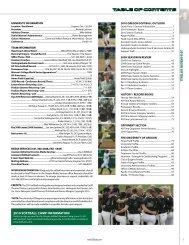 2010 Oregon Softball Multi-Media Guide (PDF) - GoDucks.com