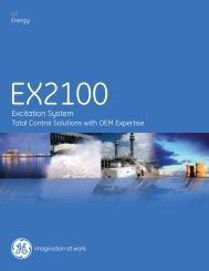 EX2100 Sales Brochure / PDF 508kb - GE Energy