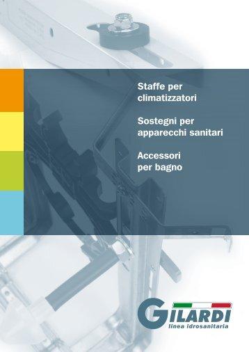 Scarica il nuovo Catalogo della linea idrosanitaria - Gilardi