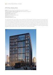 CYTS Plaza, Beijing, China - gmp Architekten von Gerkan, Marg und ...