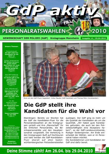 Publisher GdP aktiv 2010-04-05 - GdP Mannheim