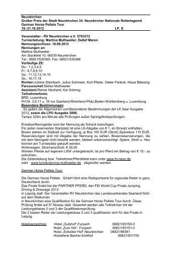 Neunkirchen Großer Preis der Stadt Neunkirchen 34. Neunkircher ...