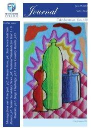 Journal 4 - 2010 - Bethlehem College