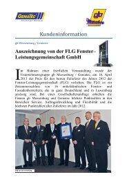 Kundeninformation - Gb Meesenburg OHG