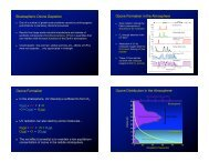 Stratospheric Ozone Depletion Ozone Formation in the Atmosphere ...