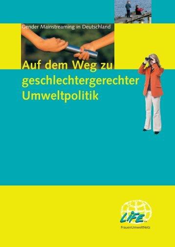 download der Broschüre in deutsch - genanet - Leitstelle GENDER ...