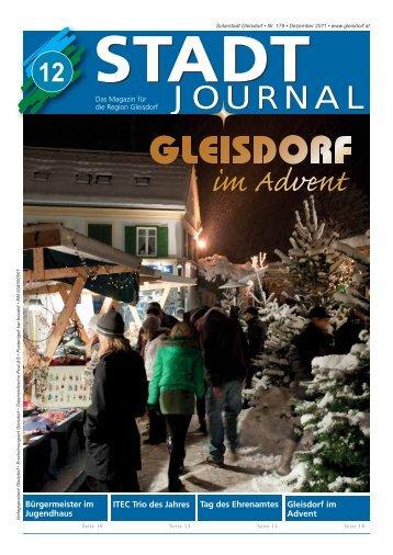Dezember - Ausgabe - Gleisdorf
