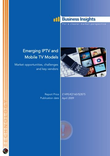 Emerging IPTV and Mobile TV Models: Market ... - Business Insights