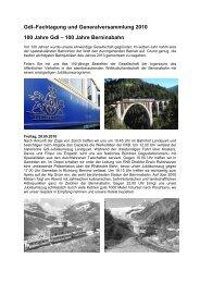 100 Jahre Berninabahn - gdi