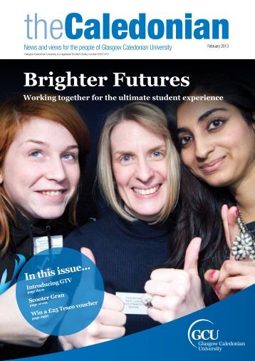 Brighter Futures - Glasgow Caledonian University