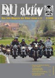Das Info-Magazin der Biker Union e.V. 2/2008