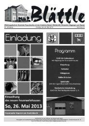 KW 21 am 24.Mai 2013 - Göggingen