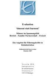 Evaluationsbericht - Kanton Luzern