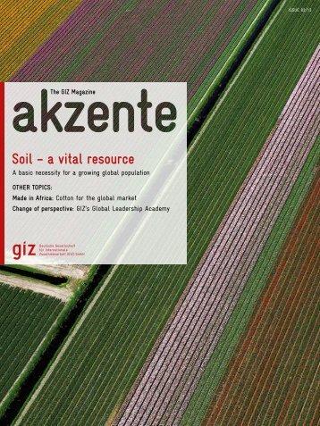 Complete issue (pdf, 9.72 MB, EN) - GIZ