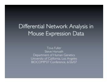 PDF slide presentation - UCLA Human Genetics