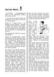 Auf ein Wort…! - (GdP) - Kreisgruppe Recklinghausen