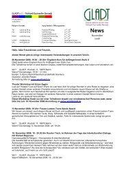 Newsletter November 08 - Gladt