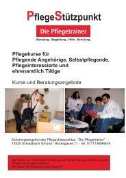 Pflege - Gesundheitsnetz Ostalbkreis