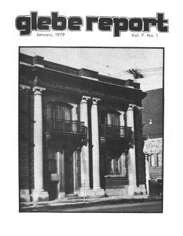 January 01, 1979 - Glebe Report