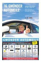 16. Gmünder Automeile (4,29 MB) - Schwäbische Post