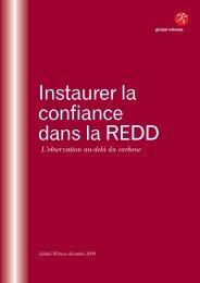 Building Confidence in REDD French:REDD - Global Witness