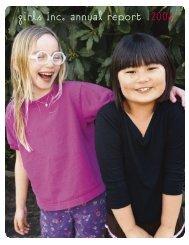 girls inc. annual report 2006