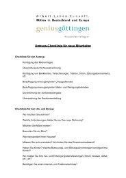 Umzugs-Checkliste für neue Mitarbeiter - geniusgöttingen