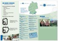 Flyer des Albstifts - Gesundheitsnetz Ostalbkreis