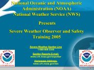 National Oceanic and Atmospheric Administration (NOAA ... - GLPTI