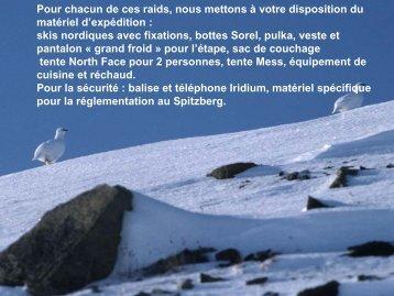 Matériel spécialisé pour le ski nordique - Grand Nord Grand Large