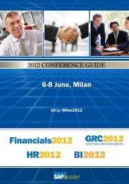6-8 June, Milan