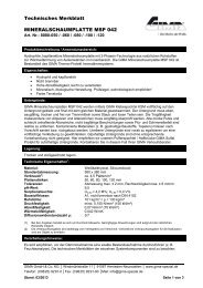 TM Mineralschaumplatte MSP 042 Stand 03-13.pdf - Gima