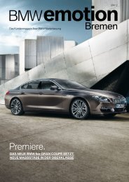 Wissen erleben! - BMW Niederlassung Bremen