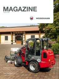 Download Weidemann Magazine - Wacker Neuson SE