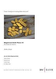 Megatrend Gold! Phase III - GoldSeiten.de