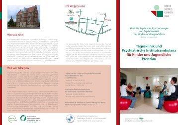 Flyer der Tagesklinik - GLG Gesellschaft für Leben und Gesundheit ...