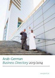 Arab -German Business Directory2013/2014 - Ghorfa