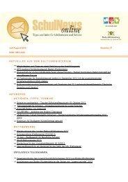 SchulNews online Nr. 37, Juli/August 2012 (PDF-Datei) - Rotteck ...