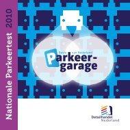 Nationale Parkeertest 2010 - Detailhandel Nederland