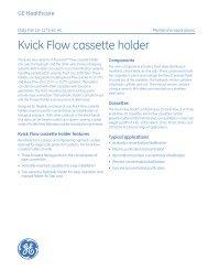 Kvick Flow cassette holder
