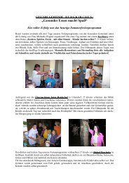 B U R G K I R C H E N : - Netzwerk Gesunde Gemeinde