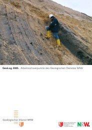 GeoLog 2005 - Geologischer Dienst NRW - Landesregierung ...